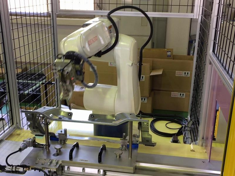 溶接検査工程の自動化